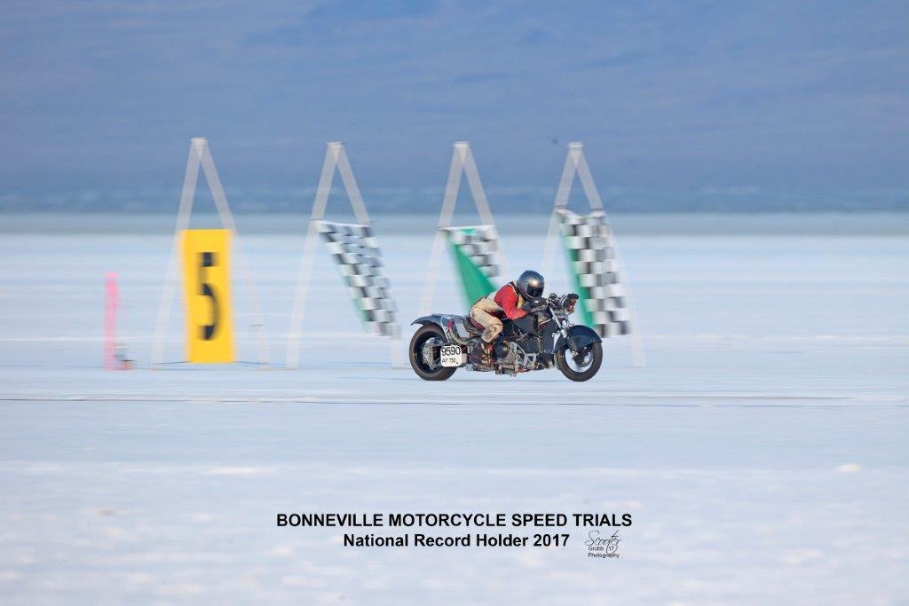 bonneville salt flats 2017 motorcycle performance