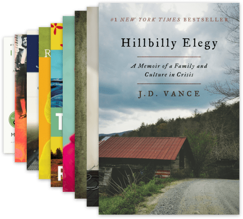 Book cover of Hillbilly Elegy